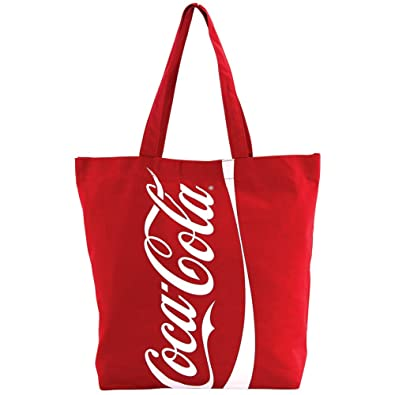 b33a1932008d Amazon.com  Coca-Cola Tote Bag in Recycled Bottle Material - Red  Shoes