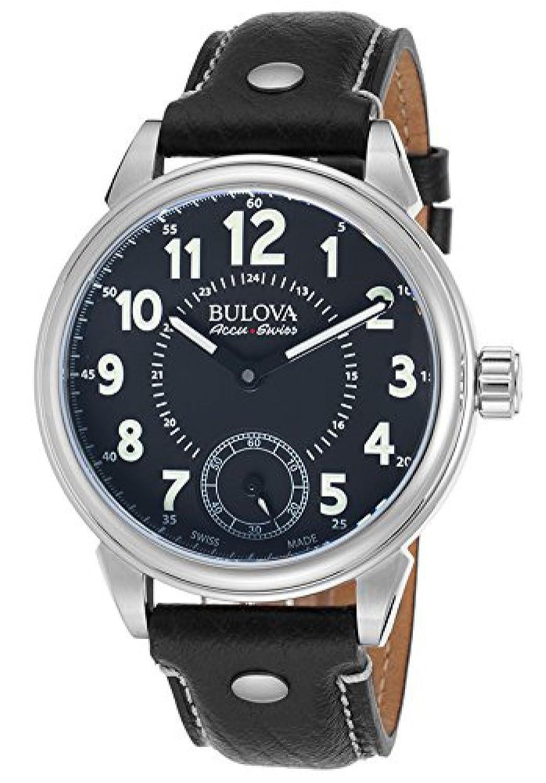 [ブローバ]Bulova 腕時計 Gemini Watch 63a120 AccuSwiss [並行輸入品] B01AT0XJNA
