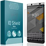 Blackberry KEYone Screen Protector, IQ Shield Matte Full Coverage Anti-Glare Screen Protector for Blackberry KEYone Bubble-Free Film