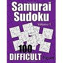 Samurai Sudoku Difficult Puzzles - Volume 1: 100 Difficult Samurai Sudoku Puzzles for the Experienced Solver (Number Puzzle Fun)
