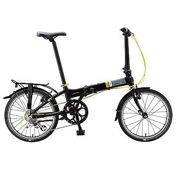 Dahon Vitesse D8 - Bicicleta plegable, color negro