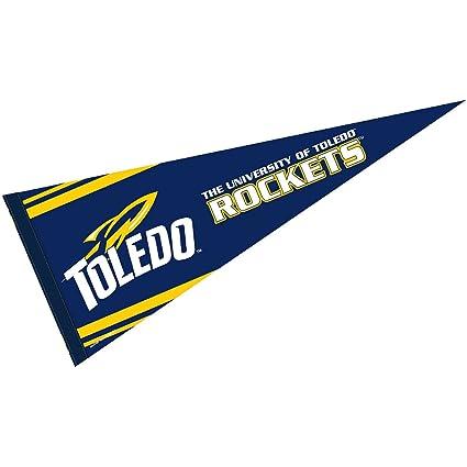Amazon.com: Universidad de Toledo Pennant Full Size fieltro ...