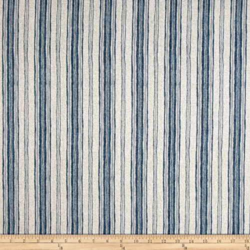 Magnolia Home Fashions Brunswick Fabric, Denim (Home Fabrics Magnolia)