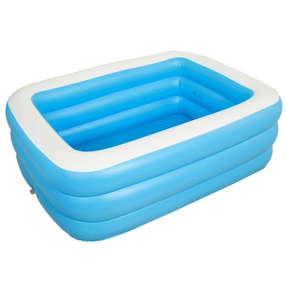 A J S YG Übergroße aufblasbare Wanne Haushalt Erwachsene Badewanne Wanne Schwimmbad (1.9M) (größe   1.9m)
