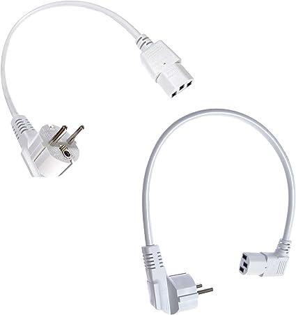 Corto Cable de alimentación/cable de alimentación para ...