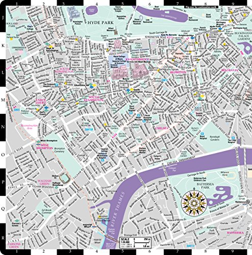 London Center Map.Streetwise London Map Laminated City Center Street Map Of London England Michelin Streetwise Maps