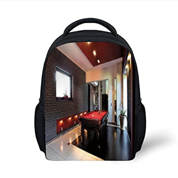 16d31f9cb3fa Amazon.com: iPrint Kids School Backpack Modern Decor,House with ...