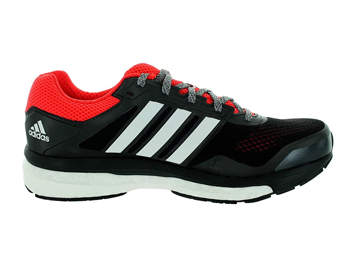 new arrival e597d 59f18 adidas Supernova Sequence Boost 7 Mens Running Shoe 12.5 Black-White   Amazon.co.uk  Shoes   Bags