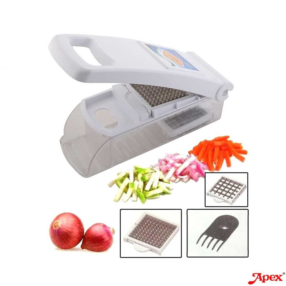 Buy APEX Kitchen Master Vegetable & Fruit Cutter/Chopper With 2 ...