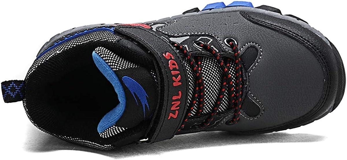 Zapatillas Ni/ños Velcro Zapatos de Gimnasia para Caminar Ligero Trainers Kids 28-38 EU
