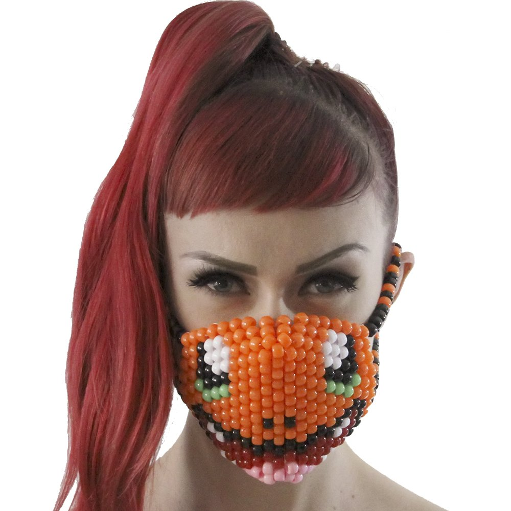 Charmander Pokemon Kandi Mask Surgical by Kandi Gear