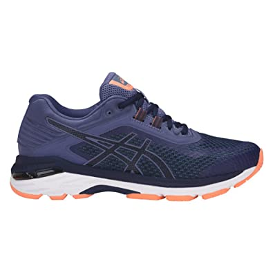 ASICS Women's GT-2000 6 Running Shoes, Indigo Blue/Indigo Blue/Smoke