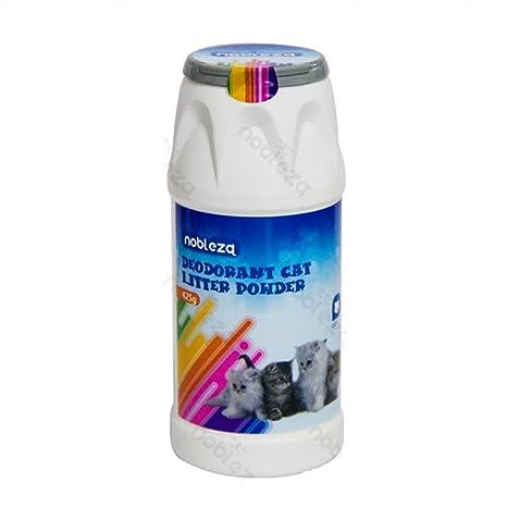 Nobleza 021604 - Polvos desodorantes para arena de gato. Contenido 425 gr.
