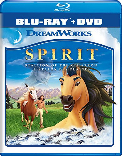 Spirit: Stallion Of Cimarron [Blu-ray]