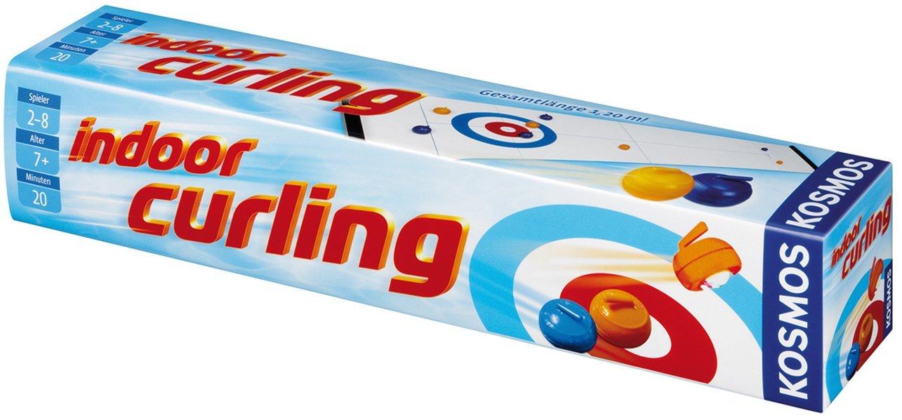Kosmos 692155 - Indoor Curling Lernen Spiele für Drinnen