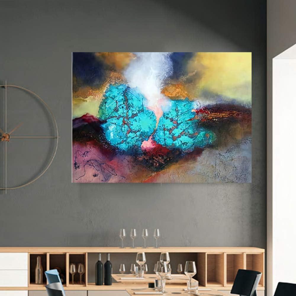 LiMengQi Pintura de Lienzo Arte de Pared Imagen impresión Vida ...