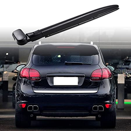 Amazon.com: Rear Windshield Wiper Kit Compatible with 03-10 Porsche Cayenne 1st Gen (Arm+Blade): Automotive