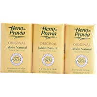 Heno De Pravia Original Jabon Natural Lote 3 x 150 Gr - 450 ml