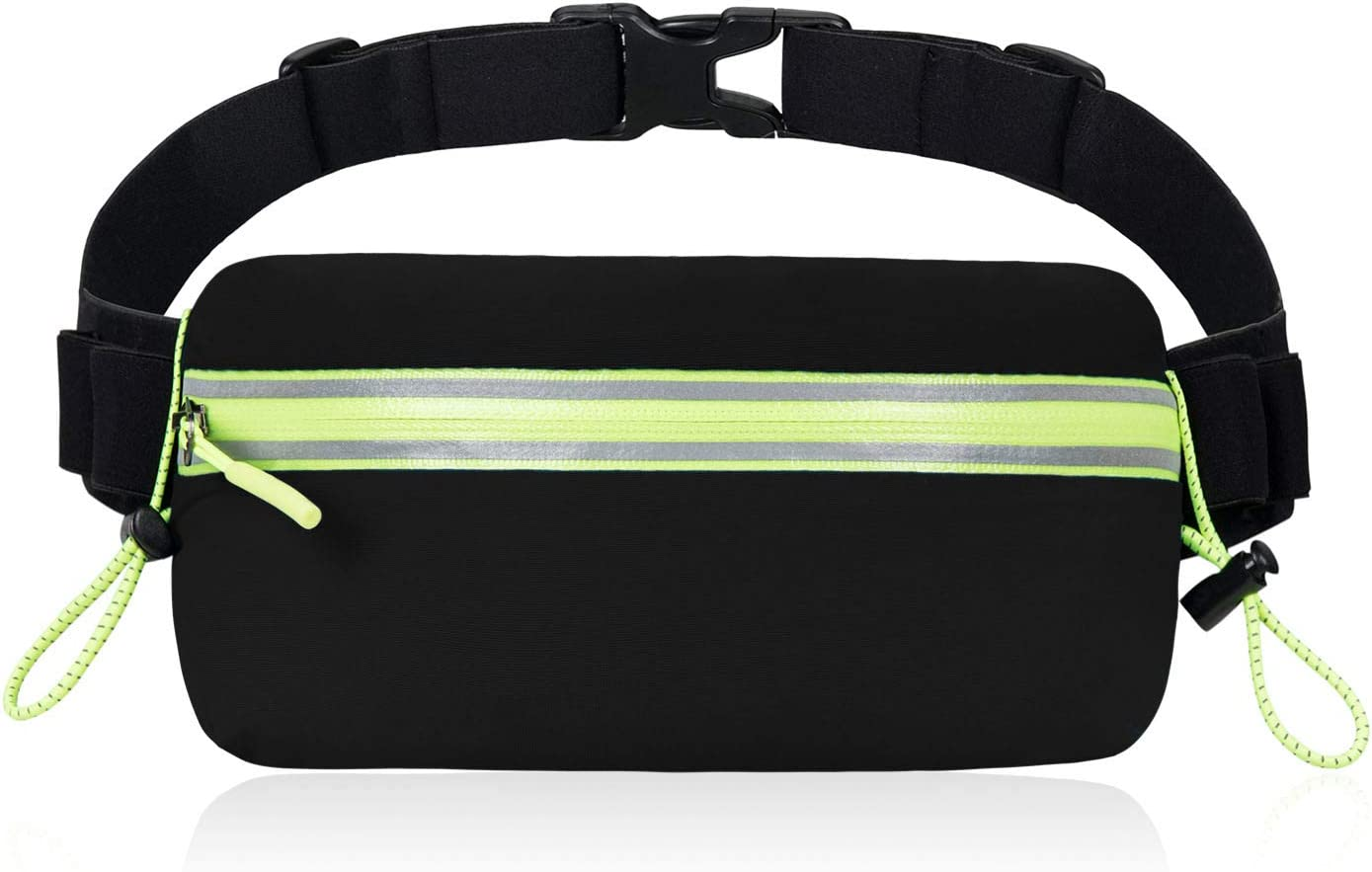 IDAND Running Belt Waist Pack Water Resistant Runners Belt Fanny Pack for Women Men Runners Hiking Stylish Fitness Adjustable Running Pouch Workout Belt Waist Pack for iPhone Xs XR 8 Plus