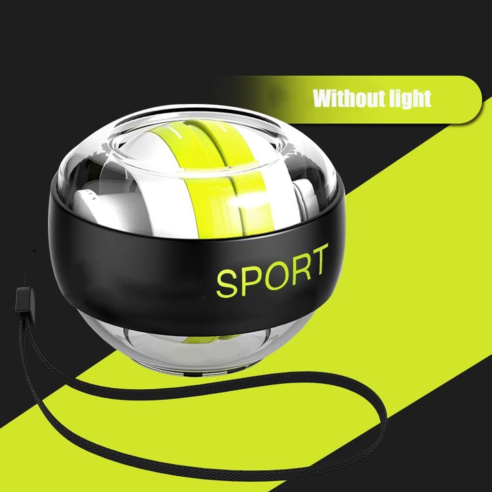 WMM Autostart Range Wrist Ball - Strengthening Gyroscopes - Wrist Strengthener (Color : No Light) by WMM - Wrist ball
