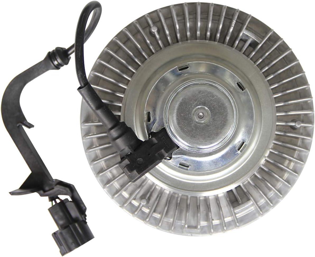 3262 YB632 Electronic Cooling Fan Clutch for 2003-2007 Ford F250 F350 Super Duty 6.0L Diesel Turbo Powerstroke