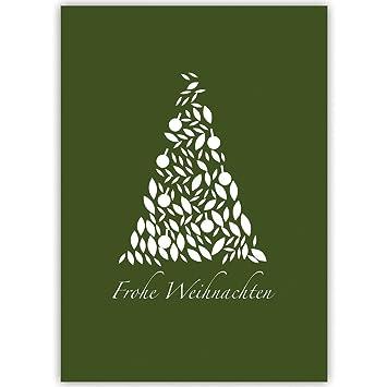 Weihnachtskarten Blanko.100er Set Edle Unternehmen Weihnachtskarten Mit Edlem Weihnachtsbaum