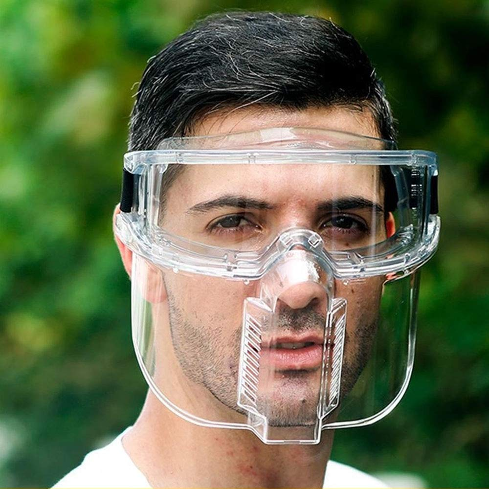 Protective Eyeglasses Face Goggles Transparent Safety Goggles