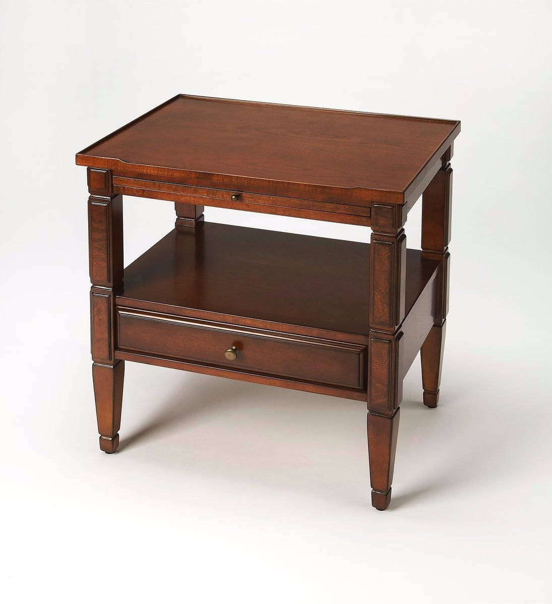 Ambiant Traditional ACCENT TABLE Medium Brown by Ambiant