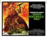 When Eight Bells Toll POSTER Movie (1971) Style A 11 x 14 Inches - 28cm x 36cm (Anthony Hopkins)(Robert Morley)(Nathalie Delon)(Jack Hawkins)(Corin Redgrave)