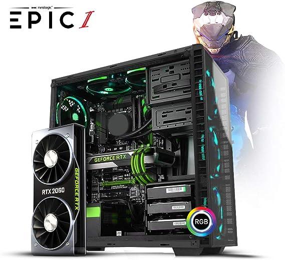 Desktop Neologic Epic I Nli81159 I7-9700k 3.60ghz 8gb 1tb Geforce Rtx2060 Windows 10 Pro Sem Monitor