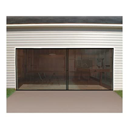 double garage door screen 16ft x 7ft - 16 Ft Garage Door