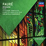 Classical Music : VIRTUOSO: Faure: Requiem; Pavane