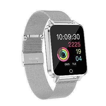 Piebo_Reloj inteligente Milanis Acero Inoxidable X9 1.54 Pulg. Color Pantalla Completa IP68 Monitor de Ritmo