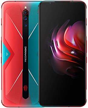 Nubia RedMagic 5G Teléfono 12GB + 256GB|Gaming Phone |Smartphone Inteligentes con Qualcomm Snapdragon 865|144Hz: frecuencia de actualización 6.65 ″ Pantalla/ 64MP Triple Camera-EU Version(Red+Blue): Amazon.es: Electrónica