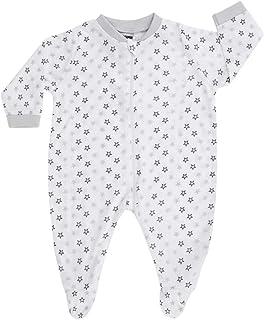 JACKY Schlafanzug 1tlg. NOS Tencel, Pigiama Unisex-Bimbi 0-24, Bianco, 62 (Taglia Produttore:)