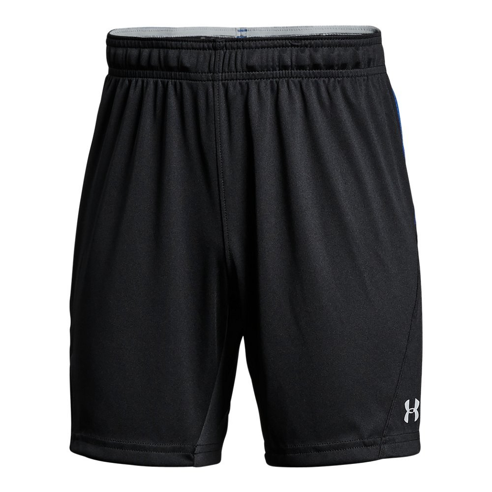 Under Armour Boys Challenger Knit Shorts, Black/Overcast Gray, Youth Large by Under Armour