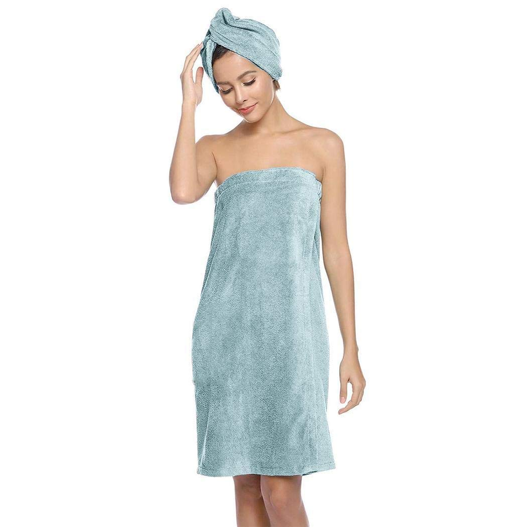 herencn Home Bathroom Gym Beach Soft Absorbent Solid Towel Bath Towel Set Towel Sets