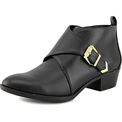 Womens Ontario Leather Pointed Toe Ankle Fashion Boots