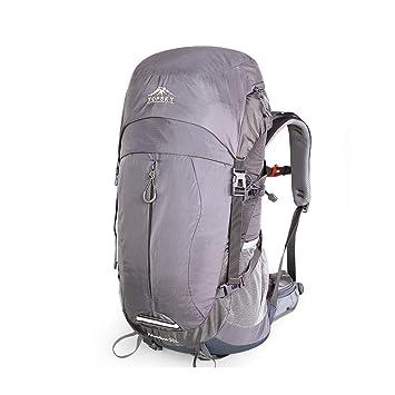 Bolsa de alpinismo hombros hombres y mujeres excursionismo al aire libre mochila gran capacidad 50 litros