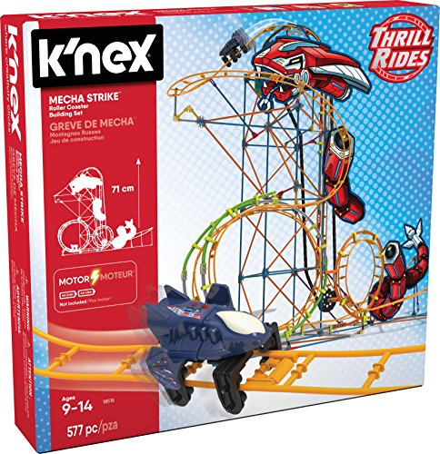 K'NEX 18515 Mecha Strike Roller Coaster Building Set]()