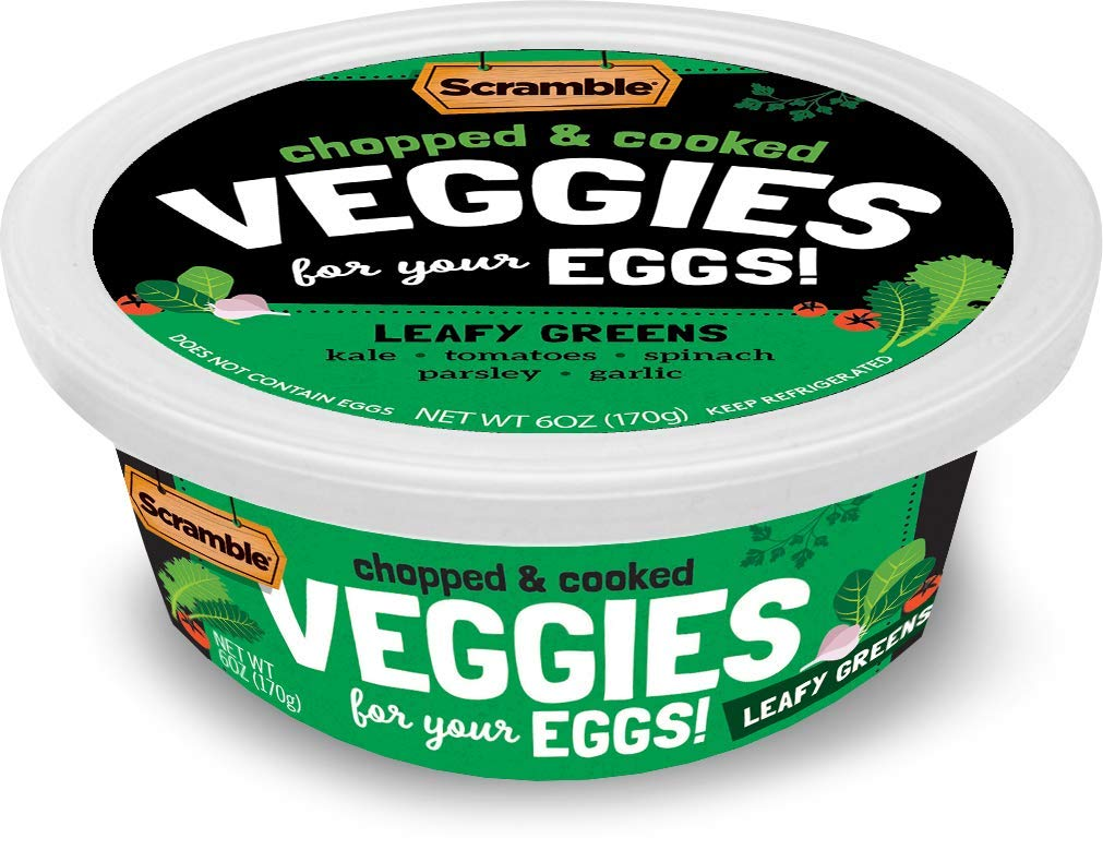 Scramble, Veggies for your Eggs, Leafy Greens 6 oz (3 Pack)