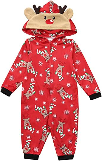 cinnamou Pijamas De Navidad Familia Conjunto Pijama De Invierno ...
