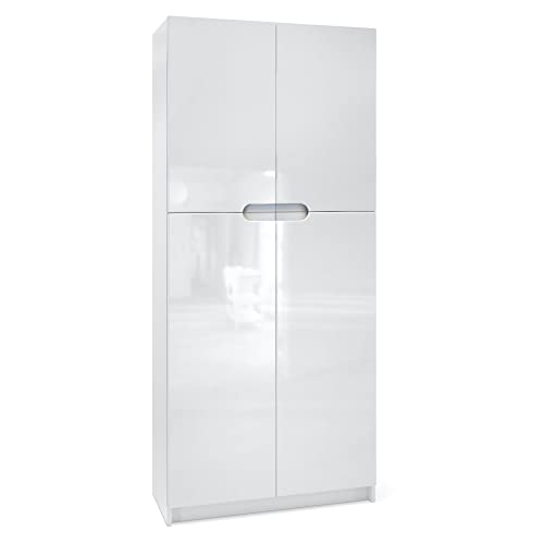 White Gloss Bookcase: Amazon.co.uk