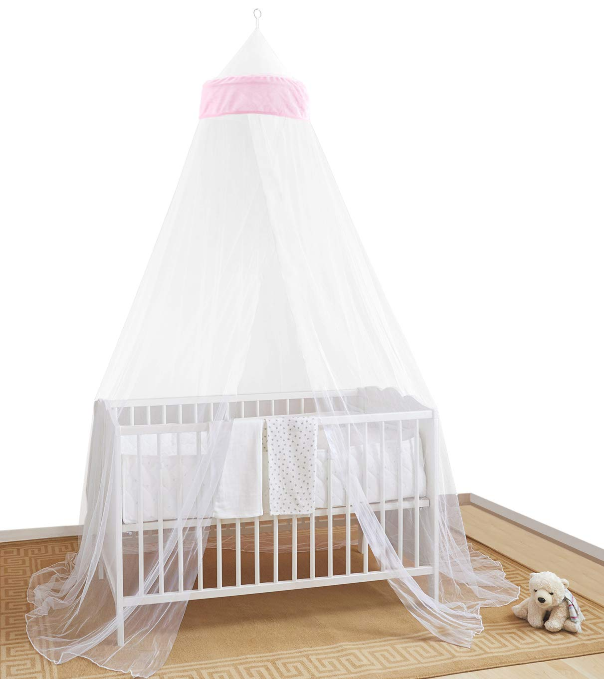 BED CANOPY INSECT PROTECTION FOR BABIES AND COTS –– Cot Accessories for Baby Girls and Toddlers Against, Insects, Spiders, Mosquitoes and More Easy to Install Home and More Store Ltd