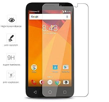 Tumundosmartphone Protector Pantalla Cristal Templado para VODAFONE Smart Turbo 7 Vidrio: Amazon.es: Electrónica