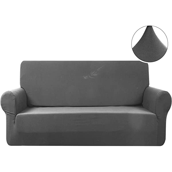 Amazon.com: WOMACO L Shape Sofa Covers Sectional Sofa Cover ...