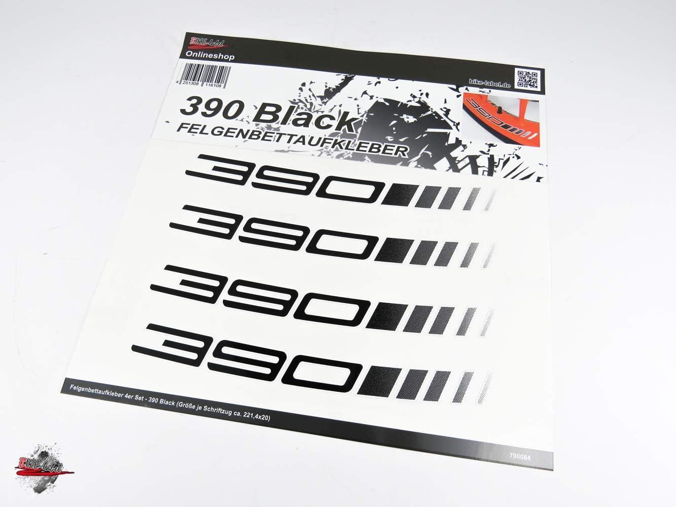 BIKE-label 790084-VA Autocollant pour lit de jante compatible avec KTM 390 Duke
