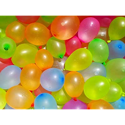 Woolwins Biodegradable Water Balloons Refill Kit 1000 Pack: Toys & Games