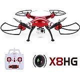 GoolRC Syma X8HG 8.0MP HD Caméra RC Quadcopter avec Baromètre Mis Hauteur et Mode sans Tête