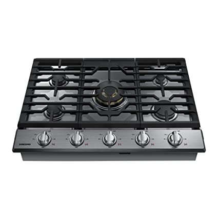 Samsung 30u0026quot; Stainless Steel Gas Cooktop